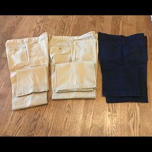 GAP Bottoms - Gap boys size 16 husky pants bundle